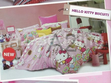 Sprei Hello Kitty Biscuits (SKC-108)